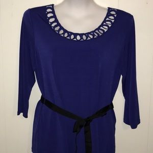 ❄️HOLIDAY B❄️G❄️East 5th Avenue Purple Dress Top